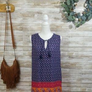 Boho Sheath Dress by BLL New York Size L
